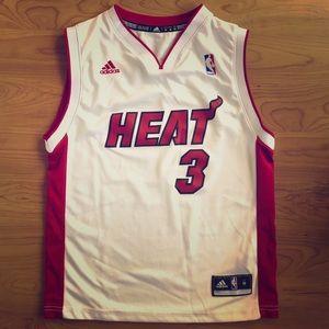 Boys Miami Heat Wade #3 Jersey size M